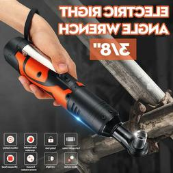 100NM 42V Electric Cordless Ratchet Wrench 90° Right Angle