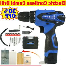 1500mAh Battery Cordless Electri Drill Electrical Screwdrive