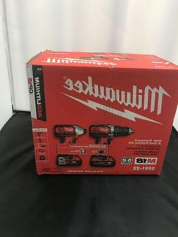 Milwaukee 2691-22 18V Cordless Drill and Impact Driver Combo
