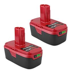 Biswaye 2Pack 5.0Ah 19.2V C3 XCP Lithium Ion Battery Replace