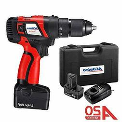 """ACDelco A20 Cordless 20V BRUSHLESS 1/2"""" 2-Speed Drill Driver"""