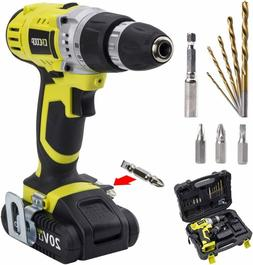 CACOOP CCD20001LBB 20V MAX 1.5 Ah Lithium-Ion Cordless Drill