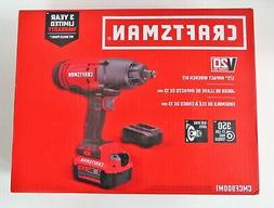 CRAFTSMAN CMCF900M1 V20 Cordless Impact Wrench Kit