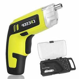 Cordless Electric Screwdriver Rechargeable Drill 4V 1500mAh