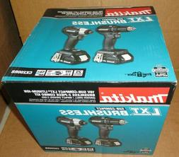 Makita CX200RB 18V Sub-Compact LXT Lithium-Ion Brushless 2-P