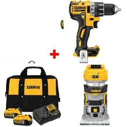 DeWalt DCD791B 20V Brushless Drill/Driver w/ Compact Router