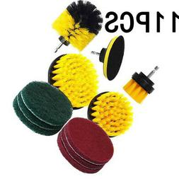 Drill Brush Scrub Pads Power Purifier Cleaning Kit For Cordl