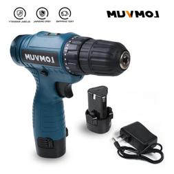 Electric Cordless Screwdriver Household Battery Drill Rechar