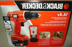 Black & Decker GC1440 Cordless Drill/14.4V Battery/Charger &