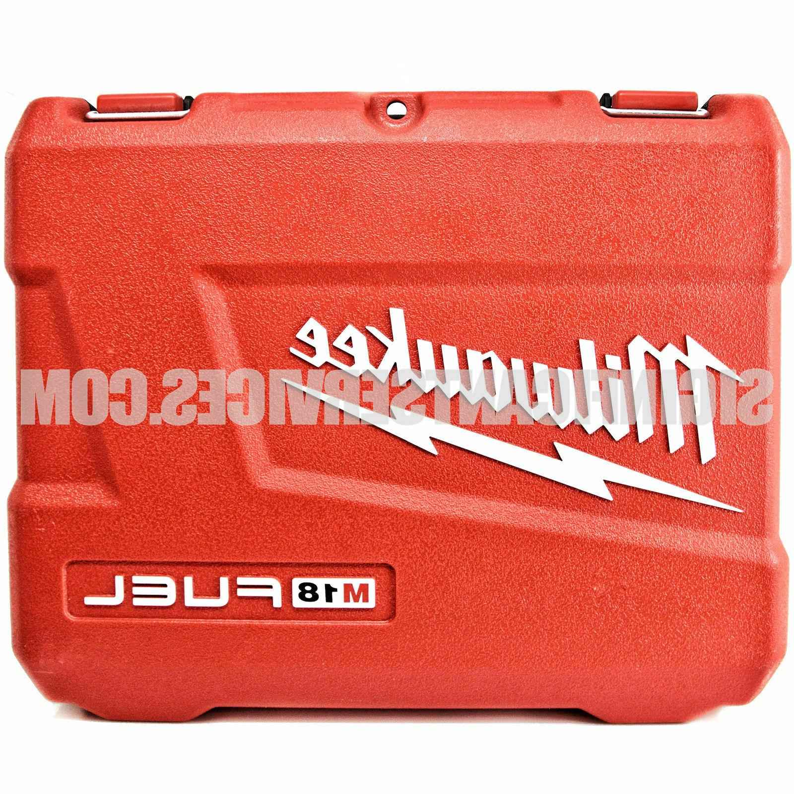 Milwaukee 18V Fuel M18 Impact Driver Wrench Tool Case 2753-2