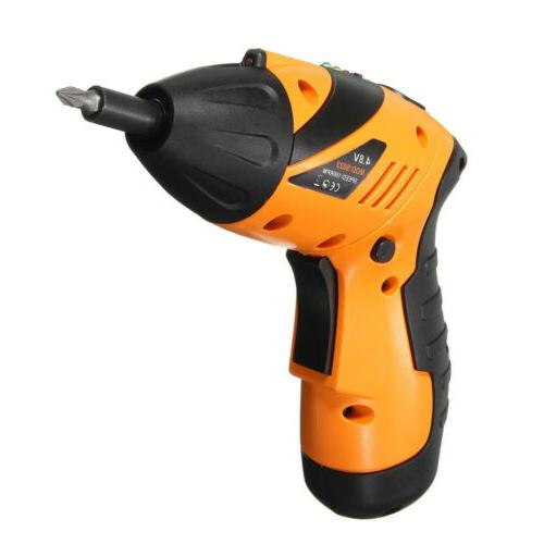 45 in Tool Rechargeable Cordless Screwdriver