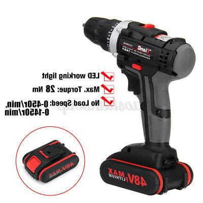 48V Cordless Speed Electric Power Driver+1
