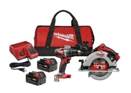 Milwaukee M18 Lithium-Ion Cordless Saw Kit
