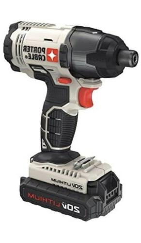 PORTER-CABLE 20V Drill Combo Impact 2-Tool