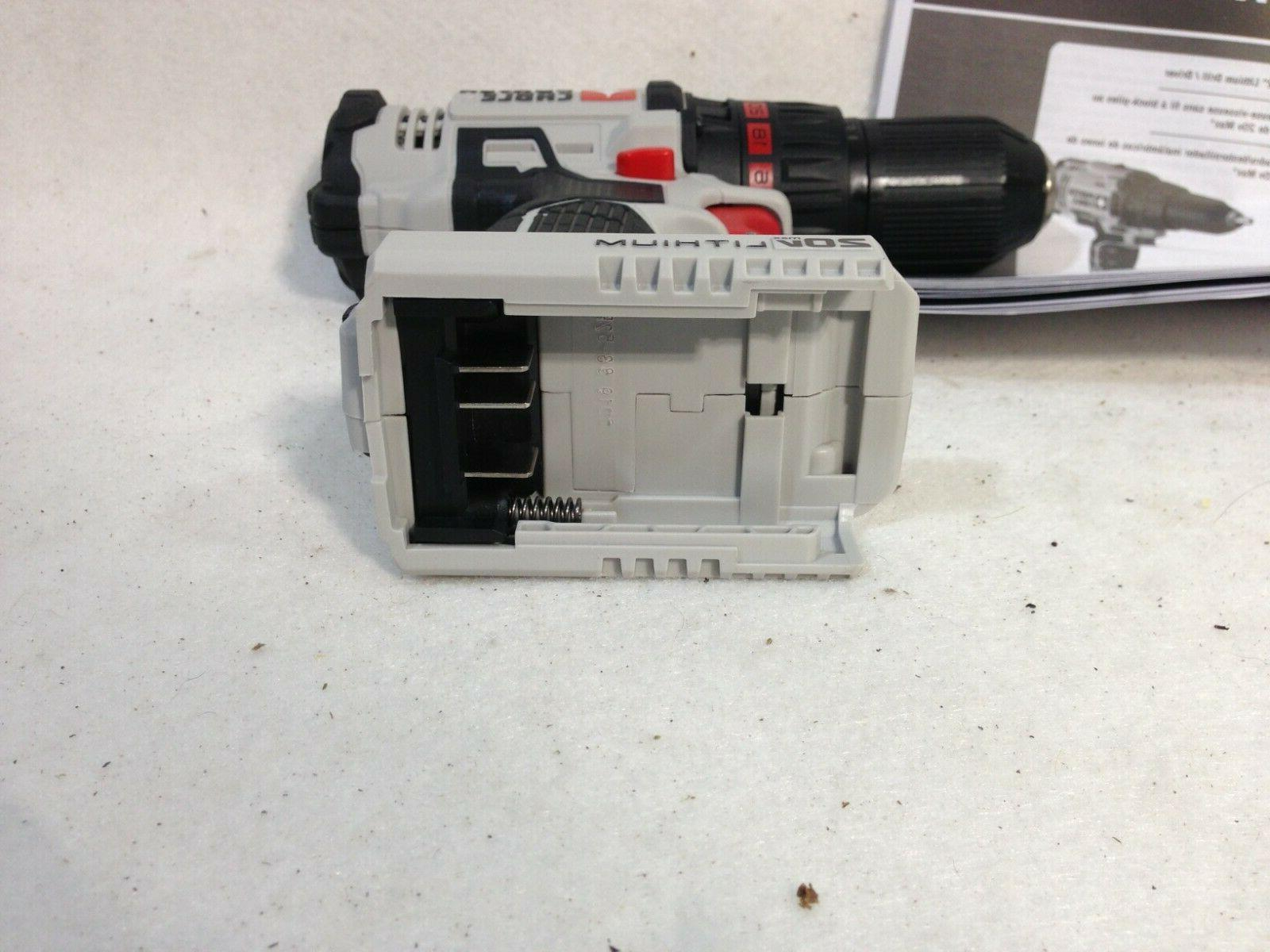 """PORTER 20V MAX LITHIUM-ION 1/2"""" DRILL DRIVER TOOL"""