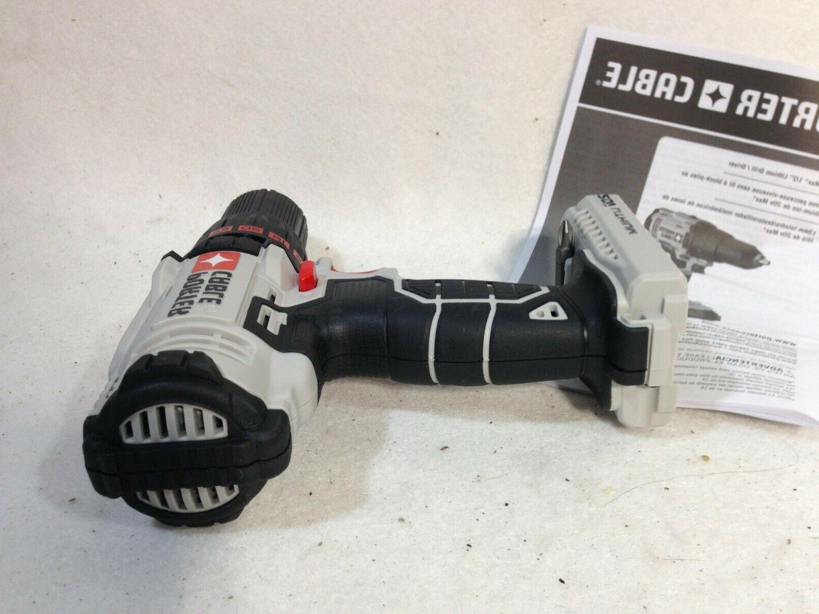 """PORTER CABLE PCC601 MAX DC 1/2"""" ONLY TOOL"""
