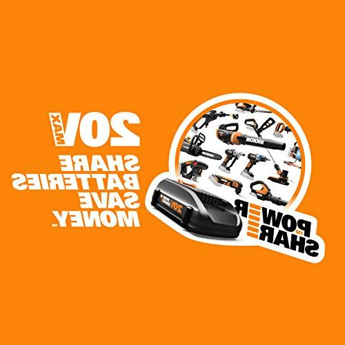 WORX 20V 2-in-1 Chucks and Motor with Torque Control