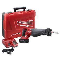 Milwaukee 2720-21 M18 FUEL SAWZALL Reciprocating Saw Kit wit