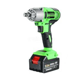 NEW 98VF 320NM 12000mAh Cordless Electric Impact Wrench Dril