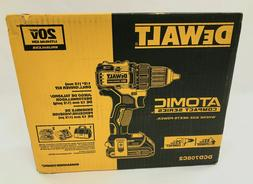 New DEWALT DCD708C2 20V MAX Brushless Atomic Compact 1/2in D