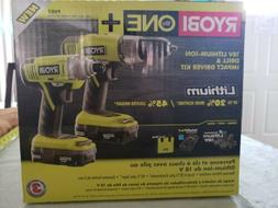 Ryobi ONE+ 18/Volt Lithium-Ion Cordless Drill/ ImpactDriver