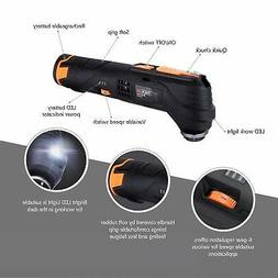 12V Oscillating Tool, 6 Variable Speed Lithium-Ion Cordless