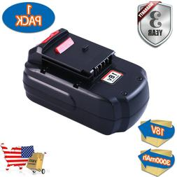 PC18B FOR PORTER CABLE 18V 3.0aH BATTERY PCC489N PCMVC CORDL