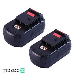 3.6Ah Ni-Mh PC18B Replacement for Porter Cable 18V Battery P