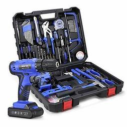 Power Tools Combo Kit, Tool Set with 53Pcs Accessories, 21V