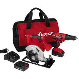 PS76200C 20V Cordless Drill / Circular Saw Combo Kit  with
