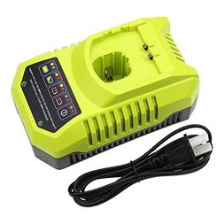 Replace Ryobi Battery Charger 9.6v-18v Replace P102 P105 P10