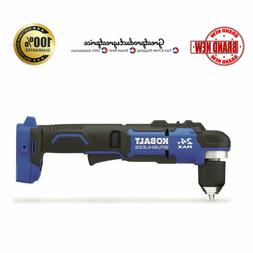Right Angle Drill Cordless Power Tool Brushless 24 Volt LED