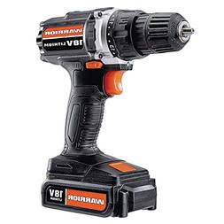 Warrior 18v Lithium ion  3/8 inch Cordless Drill Driver Kit